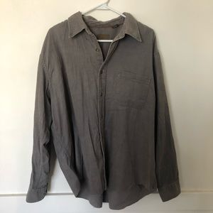 St. John's Bay corduroy button up shirt
